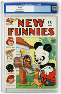 Golden Age (1938-1955):Funny Animal, New Funnies #87 (Dell, 1944) CGC NM 9.4 Cream to off-white pages.An outstanding copy, highest grade yet assigned by CGC for...