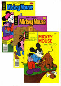 Bronze Age (1970-1979):Cartoon Character, New Terrytoons Mighty Mouse File Copies Box Lot (Gold Key, 1970-79)Condition: Average VF. This short box contains approxima...