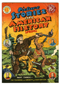 Picture Stories From American History #3 (EC, 1947) Condition: VF. Allen Simon cover and art. Overstreet 2005 VF 8.0 val...
