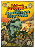 Golden Age (1938-1955):Non-Fiction, Picture Stories From American History #4 (EC, 1947) Condition: VF.Overstreet 2005 VF 8.0 value = $141....