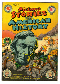 Picture Stories From American History #4 (EC, 1947) Condition: VF. Overstreet 2005 VF 8.0 value = $141