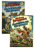 Golden Age (1938-1955):Non-Fiction, Picture Stories From American History #1 and 2 Group (EC, 1946).Includes #1 (VG/FN) and 2 (FN). Approximate Overstreet valu...(Total: 2 Comic Books)
