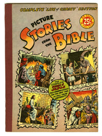 Picture Stories from the Bible Complete Life of Christ Edition (EC, 1945) Condition: VF+. Overstreet 2005 VF 8.0 value =...