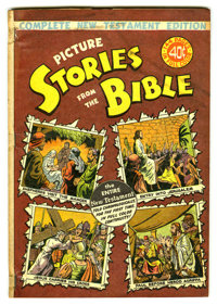Picture Stories from the Bible Complete New Testament Edition (EC, 1946) Condition: VG/FN. Overstreet 2005 VG 4.0 value...