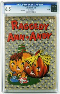 Raggedy Ann and Andy #6 File Copy (Dell, 1946) CGC FN+ 6.5 Off-white pages. Walt Kelly art. Overstreet 2005 FN 6.0 value...