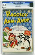 Golden Age (1938-1955):Cartoon Character, Raggedy Ann and Andy #8 File Copy (Dell, 1947) CGC FN/VF 7.0 Off-white pages. Walt Kelly art. Overstreet 2005 FN 6.0 value =...