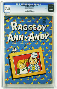 Raggedy Ann and Andy #10 File Copy (Dell, 1947) CGC VF- 7.5 Cream to off-white pages. CGC has certified a higher grade o...