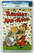 Golden Age (1938-1955):Cartoon Character, Raggedy Ann and Andy #11 File Copy (Dell, 1947) CGC FN+ 6.5 Off-white pages. As of the writing, this is the highest grade ye...