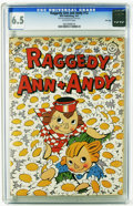 Golden Age (1938-1955):Cartoon Character, Raggedy Ann and Andy #12 File Copy (Dell, 1947) CGC FN+ 6.5 Off-white pages. To date, only one copy of this issue has been g...
