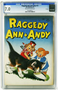 Golden Age (1938-1955):Cartoon Character, Raggedy Ann and Andy #13 File Copy (Dell, 1947) CGC FN/VF 7.0 Off-white to white pages. Only one copy of this issue has earn...