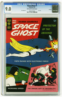 Space Ghost #1 File Copy (Gold Key, 1967) CGC VF/NM 9.0 Off-white to white pages. This copy is a triple threat for three...