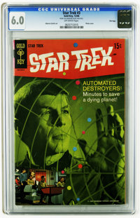 Star Trek #3 File Copy (Gold Key, 1968) CGC FN 6.0 Off-white pages. Photo cover. Alberto Giolitti art. Overstreet 2005 F...