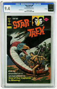 Star Trek #38 File Copy (Gold Key, 1976) CGC NM 9.4 Off-white to white pages. Al McWilliams. Overstreet 2005 NM- 9.2 val...
