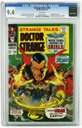 Silver Age (1956-1969):Horror, Strange Tales #156 (Marvel, 1967) CGC NM 9.4 White pages. First appearance of Zom. Spider-Man, Fantastic Four, Iron Man, X-M...