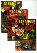 Silver Age (1956-1969):Superhero, Strange Tales #135-139 Group (Marvel, 1965). Features #135 (Col. Nick Fury becomes agent of S.H.I.E.L.D., VG+), 136 (GD/VG),... (Total: 5 Comic Books)