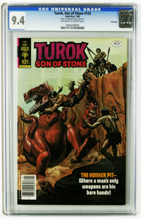 Turok #125 File Copy (Gold Key, 1980) CGC NM- 9.2 Off-white to white pages. Highest grade yet assigned by CGC for this i...