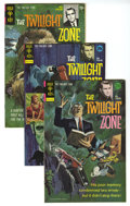 Silver Age (1956-1969):Horror, Twilight Zone Box Lot (Gold Key, 1970-79) Condition: Average VF.This full short box lot includes #33, 39 (two copies), 40 (...