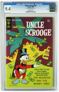 Uncle Scrooge #83 File Copy (Gold Key, 1969) CGC NM 9.4 Off-white pages. Tied with one other copy for highest-graded of...
