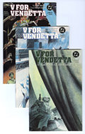 Modern Age (1980-Present):Miscellaneous, V For Vendetta #1-10 Group (DC, 1988-89) Condition: Average NM-. Includes #1, 2, 3, 4, 5, 6, 7, 8, 9, and 10, a complete run... (Total: 10 Comic Books)