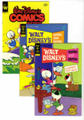 Silver Age (1956-1969):Cartoon Character, Walt Disney's Comics and Stories File Copies Box Lot (Gold Key/Whitman, 1978-82) Condition: Average VF/NM. This short box lo...