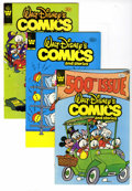Modern Age (1980-Present):Cartoon Character, Walt Disney's Comics and Stories File Copies Box Lot (Gold Key/Whitman, 1974-84) Condition: Average VF/NM. Donald Duck and h...