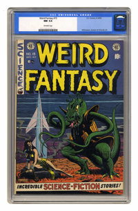 Weird Fantasy #15 (EC, 1952) CGC NM 9.4 Off-white pages. Finding high-grade copies of these fantastic EC comics -- aside...