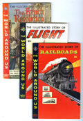 Silver Age (1956-1969):Classics Illustrated, World Around Us Group (Gilberton, 1958-60) Condition: Average FN+.Includes #4 (Railroads), 8 (Flight), 14 (the French Revol...(Total: 6 Comic Books)