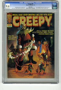 Creepy #68 (Warren, 1975) CGC NM+ 9.6 White pages. Christmas (horror) issue. Ken Kelly cover. Bernie Wrightson frontispi...