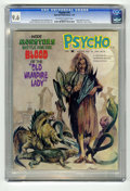 "Magazines:Horror, Psycho #16 (Skywald, 1974) CGC NM+ 9.6 Off-white to white pages. Edgar Allan Poe article. ""Nosferatu"" movie review. Overstre..."