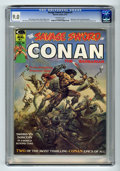 Magazines:Superhero, Savage Sword of Conan #1 (Marvel, 1974) CGC VF/NM 9.0 Off-whitepages. Origin and first appearance of Blackmark by Gil Kane....