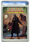 Magazines:Horror, Scream #8 (Skywald, 1974) CGC NM 9.4 Off-white to white pages. Edgar Allan Poe adaptation. Rich Buckler art. Highest grade y...