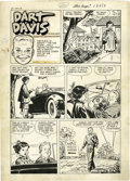 """Original Comic Art:Complete Story, Milton Caniff Studio - Steve Canyon #7 Complete Unpublished """"Dart Davis"""" Story, Group of 2 (Harvey, circa 1951). Here is a s... (Total: 11 Items)"""