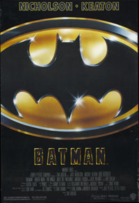 """Batman (Warner Brothers, 1989). One Sheet (27"""" X 41""""). Imagine, if you will, a """"Batman"""" directed by..."""