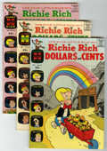 Silver Age (1956-1969):Humor, Richie Rich Dollars and Cents Group (Harvey, 1965-67) Condition: VF/NM....