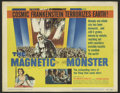 "Movie Posters:Science Fiction, The Magnetic Monster (United Artists, 1953). Title Lobby Card (11"" X 14""). A science experiment gone awry threatens earth, a..."