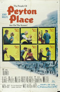 "Movie Posters:Drama, Peyton Place(20th Century Fox, 1957). One Sheet (27"" X 41""). The movie that spawned the original prime-time soap opera stars..."