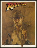 Movie Posters:Adventure, Raiders of the Lost Ark (Paramount, 1981). Program (MultiplePages). This nice program from the Steven Spielberg action thri...