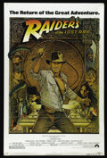 "Movie Posters:Adventure, Raiders of the Lost Ark (Paramount, R-1982). One Sheet (27"" X 41"").Would this film have been the same if Tom Selleck and Da..."
