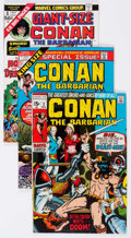 Bronze Age (1970-1979):Adventure, Conan the Barbarian Box Lot (Marvel, 1970-91) Condition: Average FN/VF....