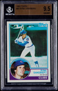 Baseball Cards:Singles (1970-Now), 1983 Topps Ryne Sandberg #83 BGS Gem Mint 9.5....