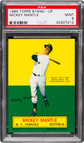 Baseball Cards:Singles (1960-1969), 1964 Topps Stand-Up Mickey Mantle PSA Mint 9 - None Higher....