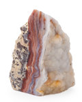 Minerals:Cabinet Specimens, Druzy Agate Stand-Up. Brazil. 4.37 x 2.45 x 2.32 inches (11.10 x6.22 x 5.89 cm). ...
