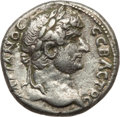 Ancients:Roman Provincial , Ancients: CAPPADOCIA. Caesarea. Hadrian (AD 117-138). AR didrachm(6.22 gm). Good VF....