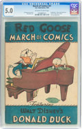 Golden Age (1938-1955):Funny Animal, March of Comics #41 Donald Duck (K. K. Publications, Inc., 1949)CGC VG/FN 5.0 Off-white to white pages....