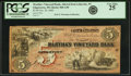 Obsoletes By State:Massachusetts, Edgartown, MA - Martha's Vineyard Bank $5 Oct. 20, 1860 AlteredNote MA-560 A30. PCGS Very Fine 25.. ...