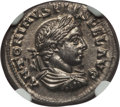 Ancients:Roman Imperial, Ancients: Elagabalus (AD 218-222). AR denarius (2.98 gm). NGC MS 5/5 - 4/5....