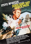 "Movie Posters:Action, The Hunter (Paramount, 1980). German A1 (23"" X 33""). Action.. ..."