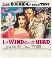 "The Wind Cannot Read (Rank, 1958). British Six Sheet (79"" X 88""). Romance"