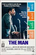 """Movie Posters:Black Films, The Man & Others Lot (Paramount, 1972). One Sheets (5) (27"""" X41"""") & Lobby Card Set of 8 (11"""" X 14""""). Black Films.. ...(Total: 13 Items)"""