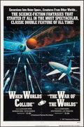 "Movie Posters:Science Fiction, When Worlds Collide/The War of the Worlds Combo & Other Lot (Paramount, R-1977). One Sheets (2) (27"" X 41""). Science Fiction... (Total: 2 Items)"